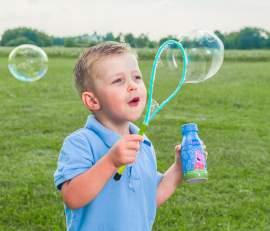 Buborék gyűrű szappanbuborékokhoz